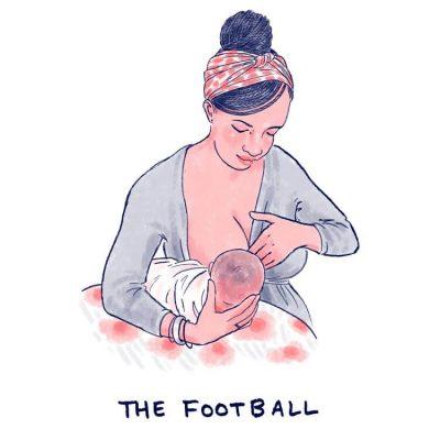 Football-Hold-breastfeeding-position-illustration-Mama-Natural-750x750